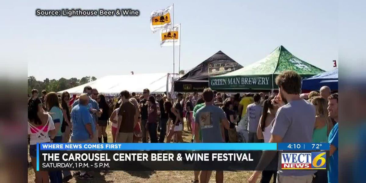 The Carousel Center Beer & Wine Festival is Saturday, Oct. 27.