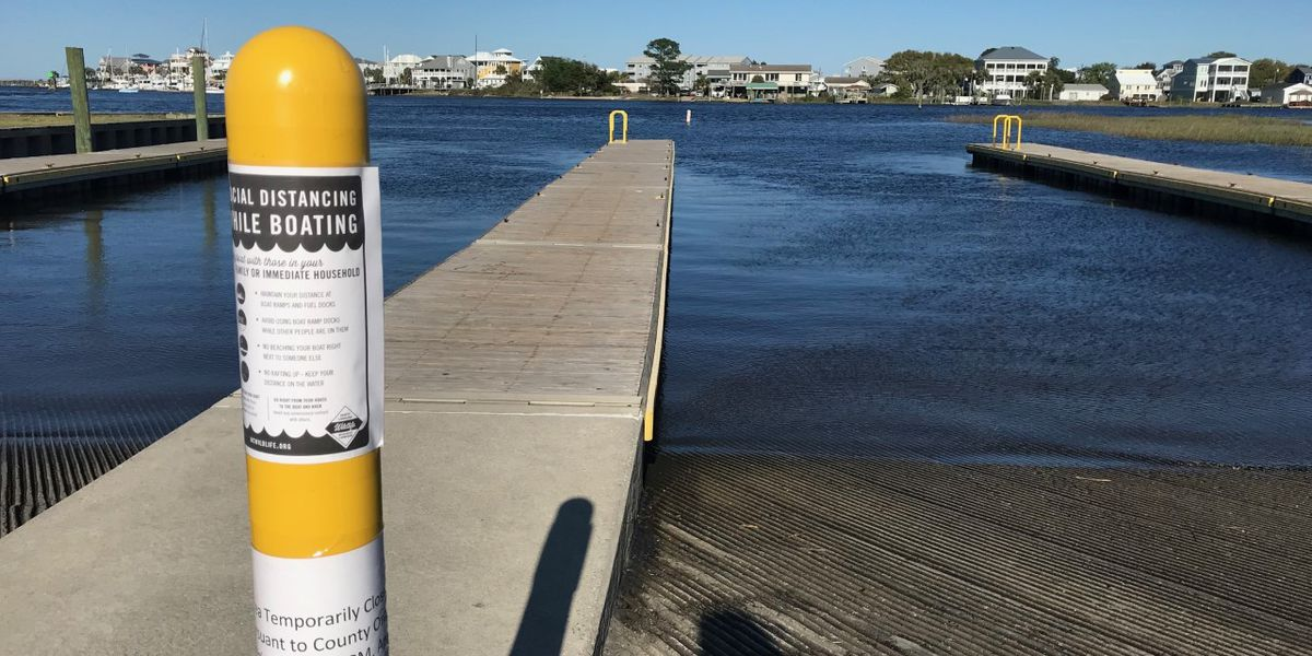 New Hanover County plans to close all boat ramps Friday night