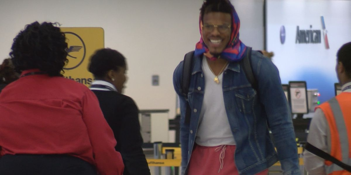 Panthers head to London, Cam Newton spotted at CLT Airport