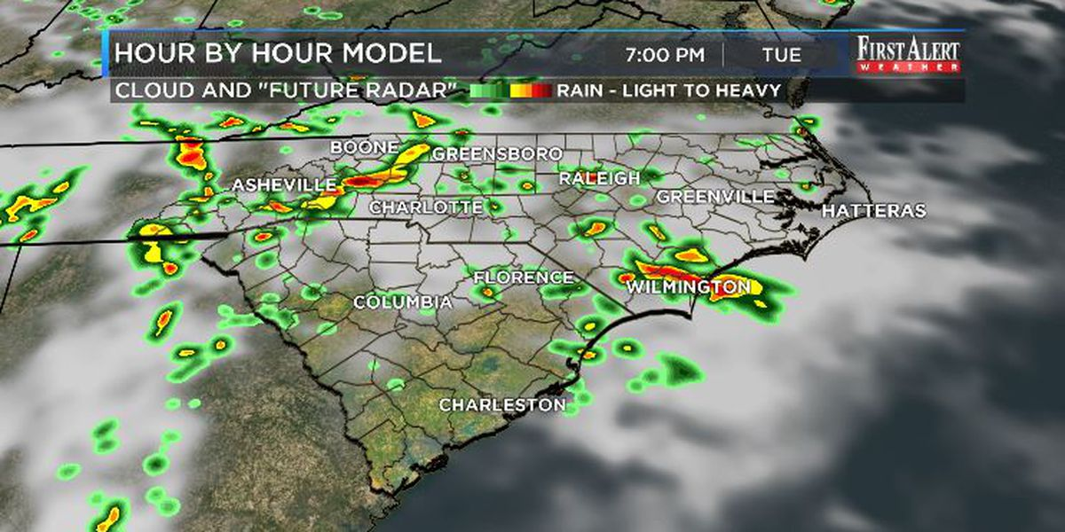 First Alert Forecast: active storm pattern trending a bit more settled through the 4th