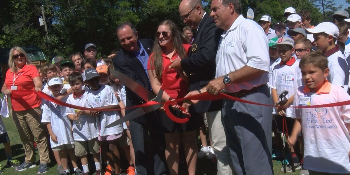 First Tee unveils new facilities, $100K donation for golf students
