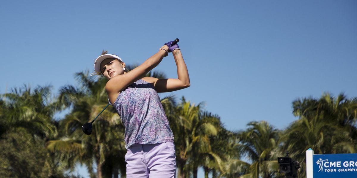Thompson leads LPGA finale, Jutanugarn eyes more trophies