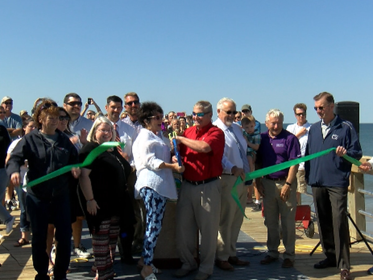 Oak Island Pier reopens over two years later