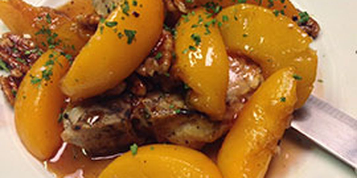Highway 6: Freddie's of Kure Beach shares recipe for peach pecan pork chops