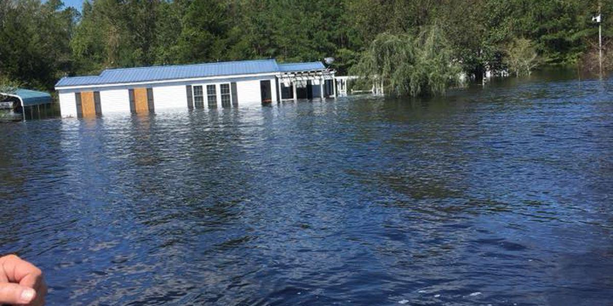 Water rescues underway in Brunswick Co.