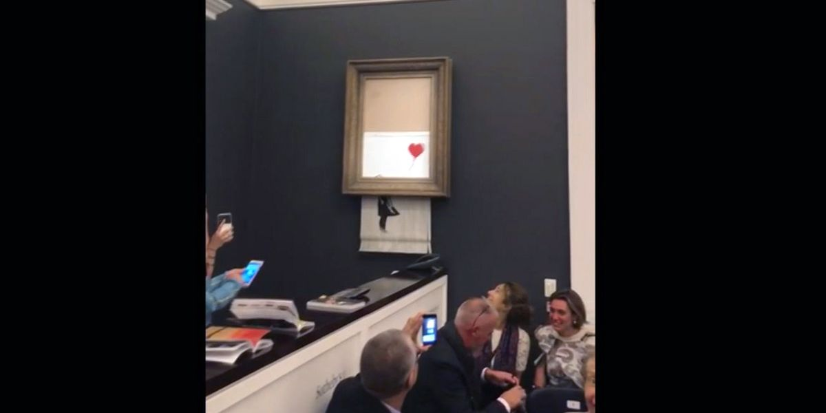 Banksy pulls off one of the greatest art pranks of all