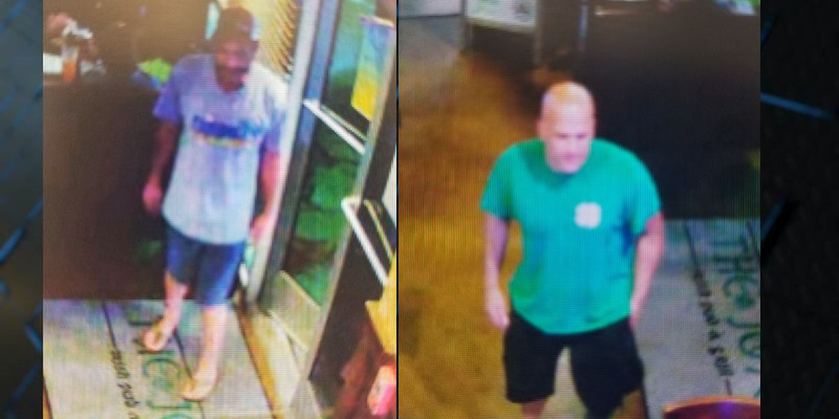 Police looking for men accused of leaving Leland bar without paying