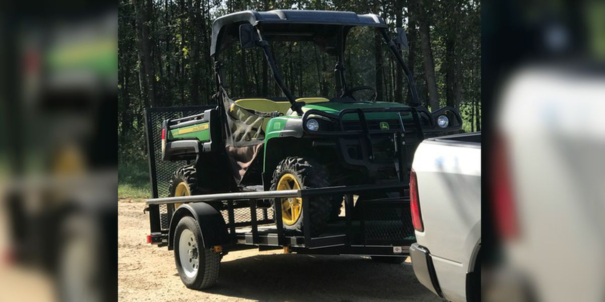 Bladen Co. deputies recover stolen ATV amid rash of property thefts