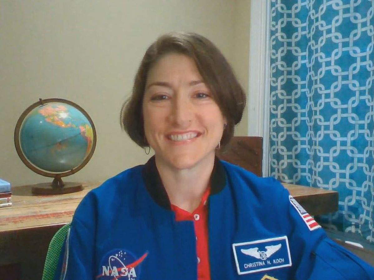 "Christina Koch: Her lifelong dream of going to space began along the NC coast (""1on1 with Jon Evans"" podcast)"