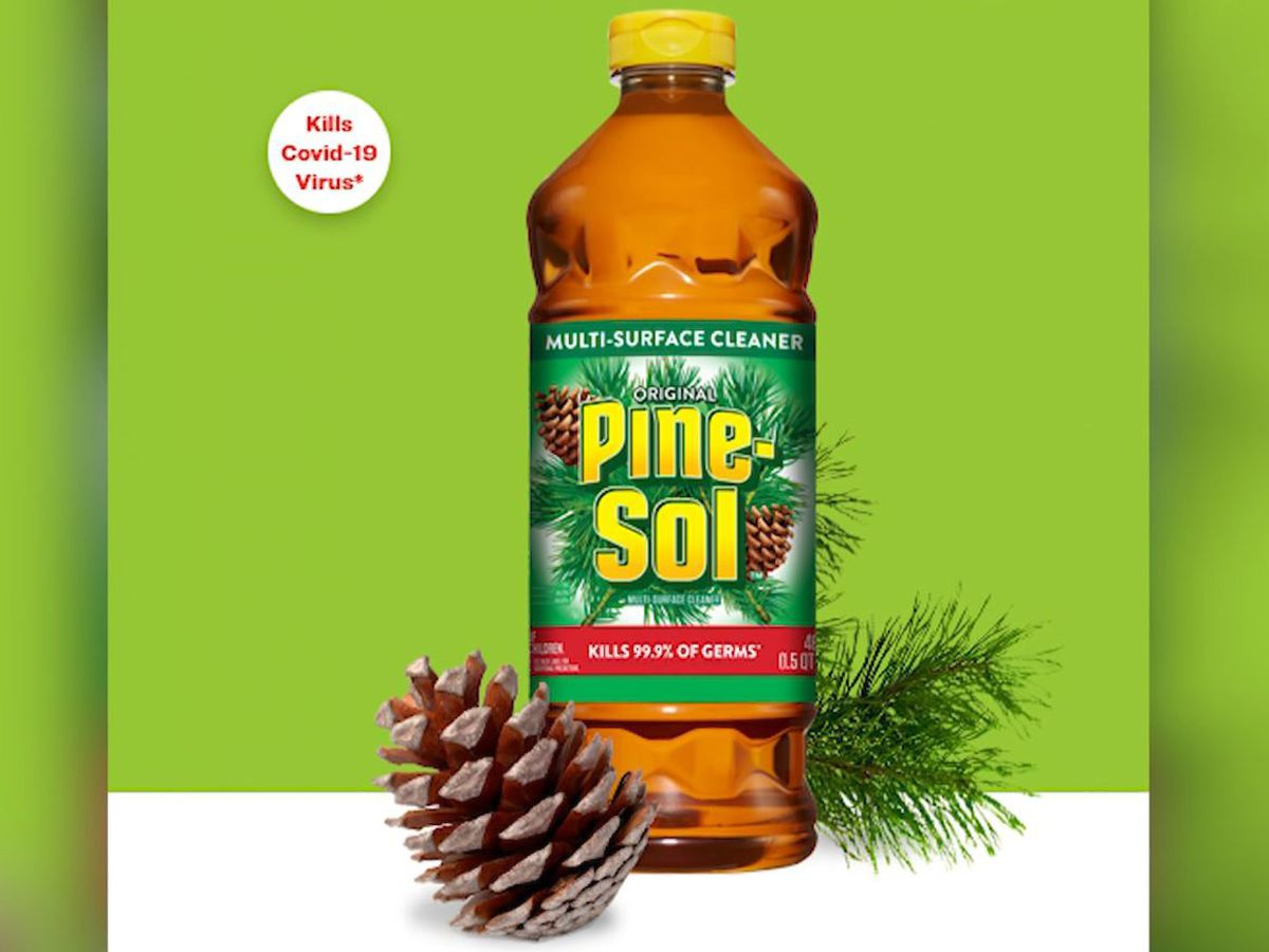 Pine-Sol cleaner approved for killing coronavirus on hard surfaces