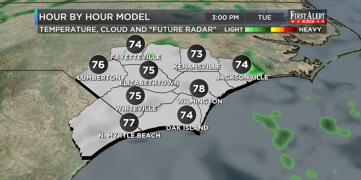 First Alert Forecast: cooler and cloudy with clearing ahead