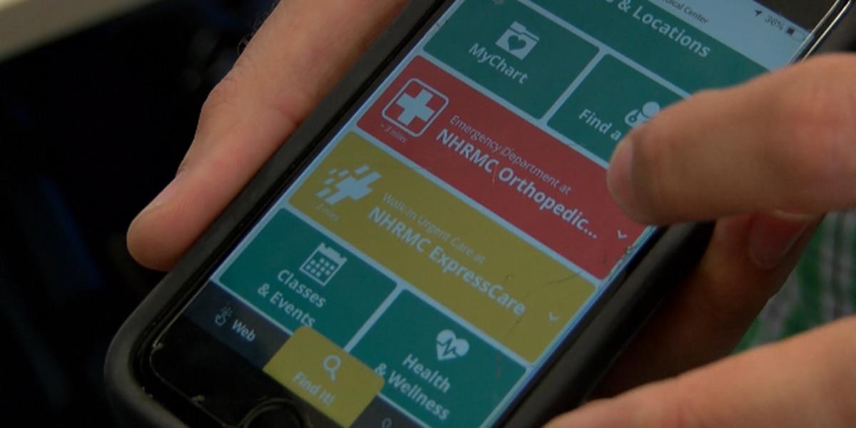 New Hanover Regional Medical Center unveils new smartphone app