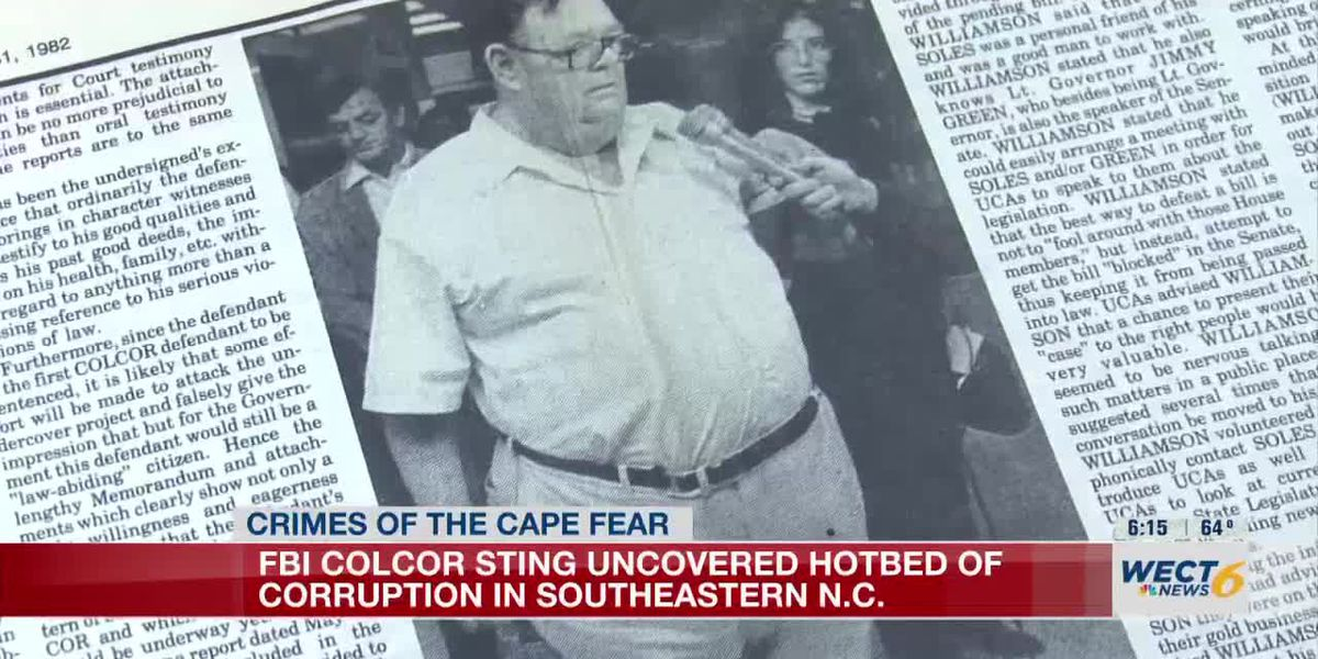 FBI Colcor sting uncovered hotbed of corruption in Southeastern NC