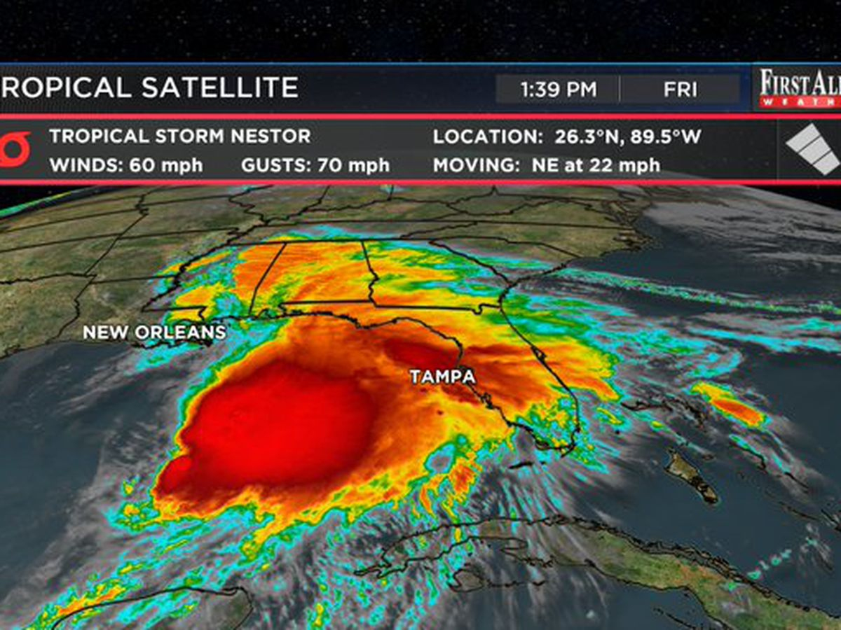 First Alert Forecast: Nestor to impact southeast NC this weekend