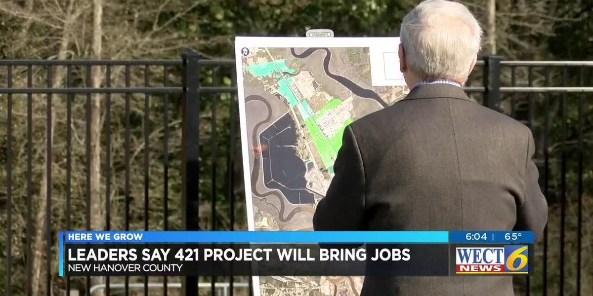Completion of water, sewer project along US 421 industrial corridor to bring jobs, economic growth