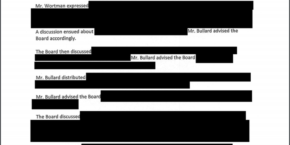NHCS provides redacted meeting minutes offering little insight into pay out of former superintendent