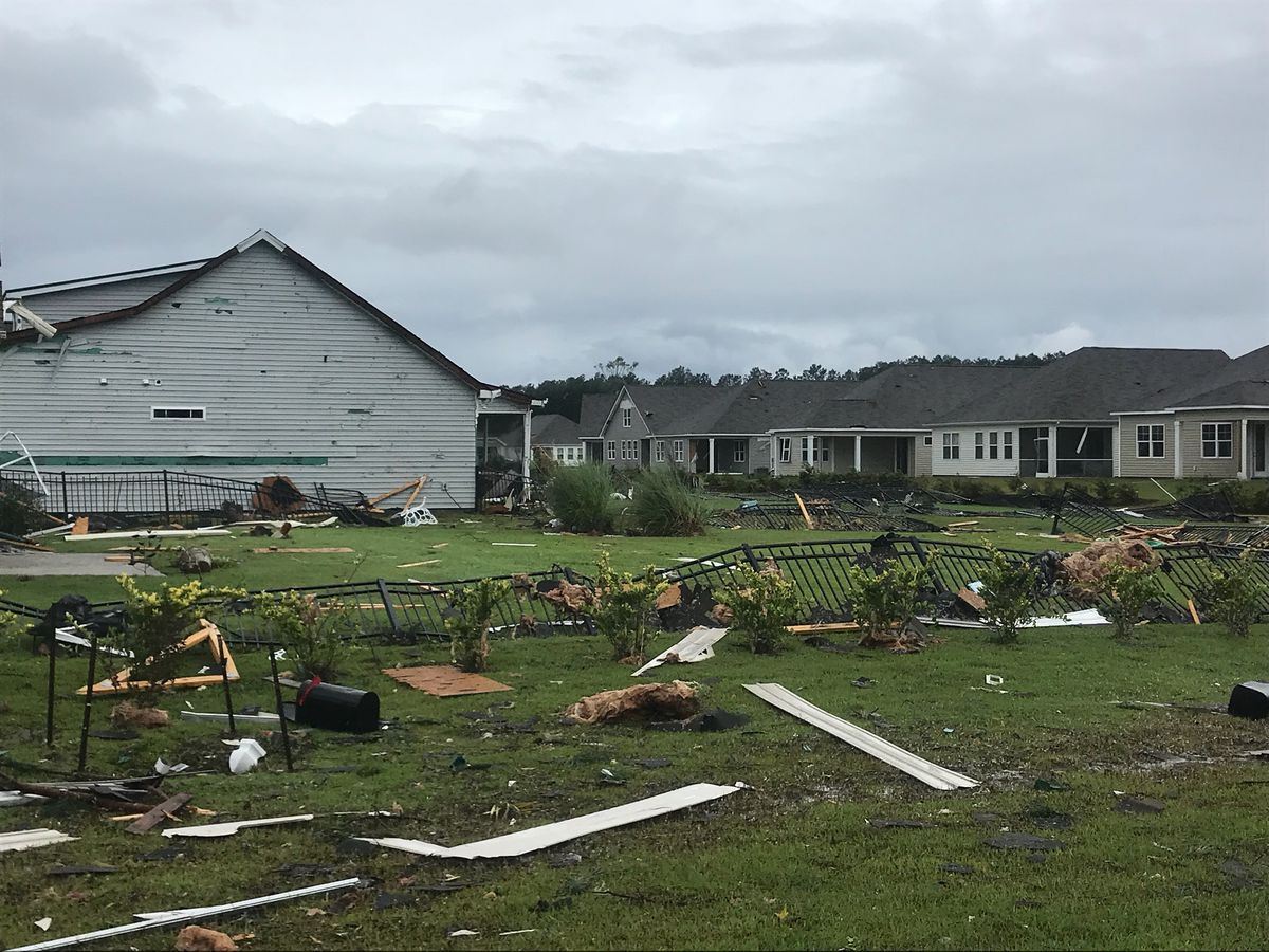 Brunswick community ripped apart by tornado, putting the final touches on recovery