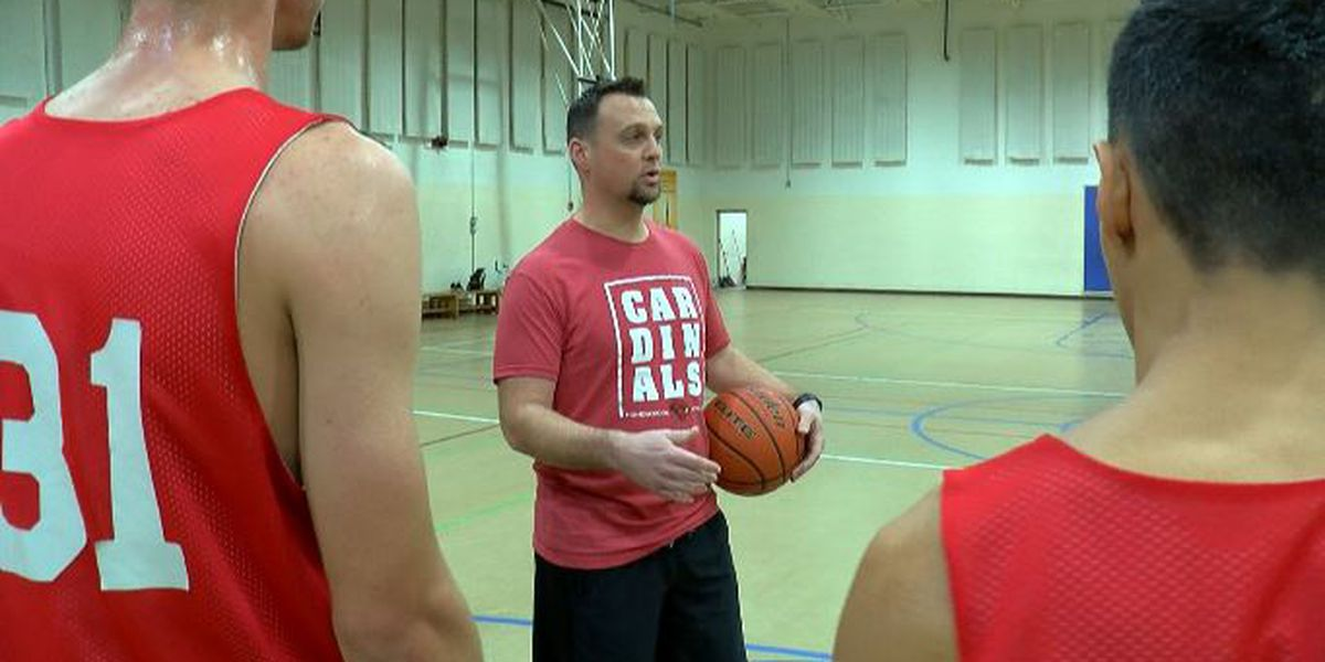 Southeastern Homeschool learning life lessons through basketball
