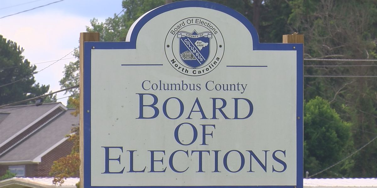 NC election fraud: Concerning number of absentee ballots not returned in Columbus Co.