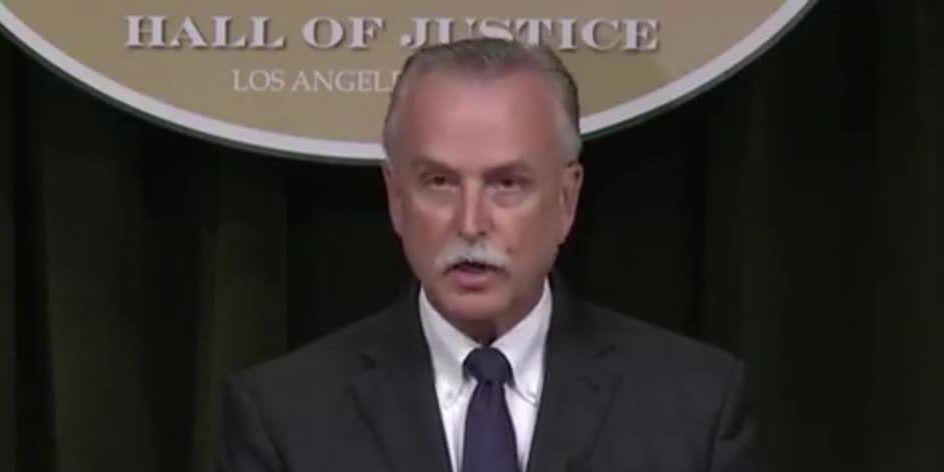 Sheriff's office: LA deputy lied about being shot by sniper