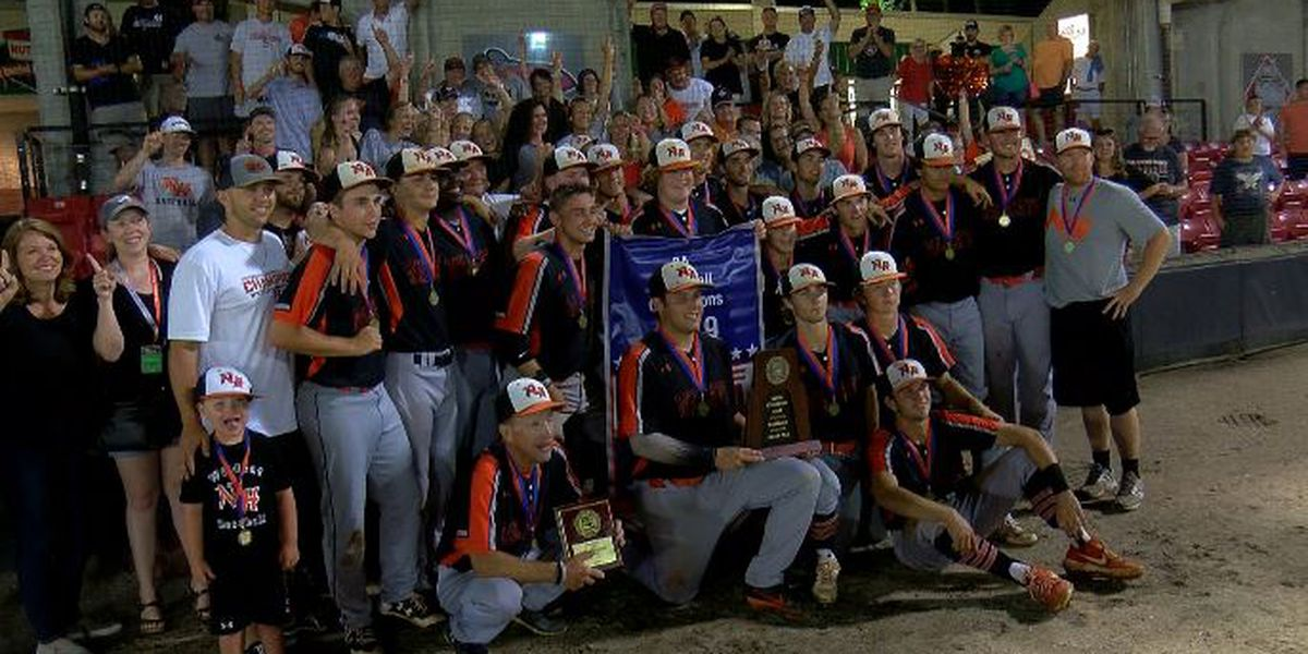 New Hanover baseball wins back-to-back 3A state championships