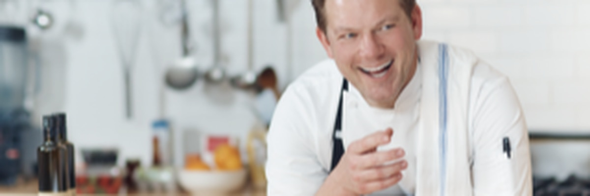 Food Network host Tyler Florence challenges local food trucks at GLOW event