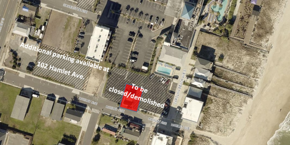 Carolina Beach Hamlet Avenue project, over budget and behind schedule