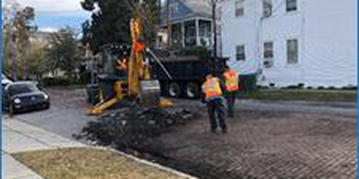 Section of N. 4th Street to close for about a month for brick rehabilitation