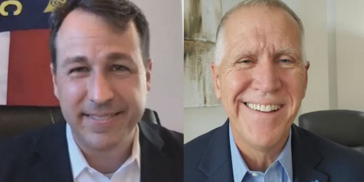 Tillis, Cunningham take part in virtual Q & A at Wilmington Biz Conference and Expo