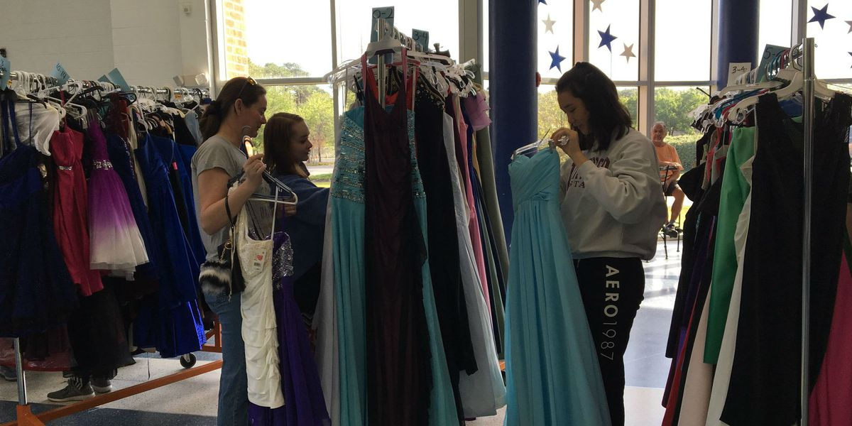 Brunswick County Schools helps girls prepare for their big night with the annual Prom Closet