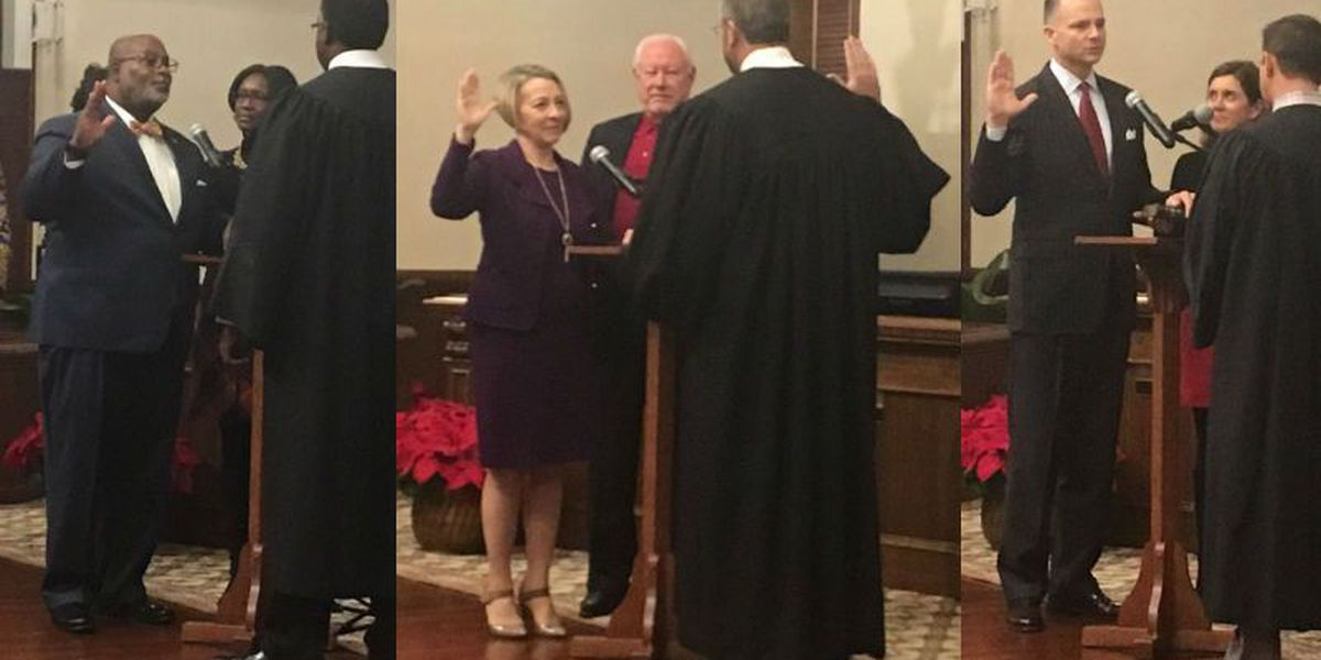 New Hanover County commissioners sworn-in, White selected as chair