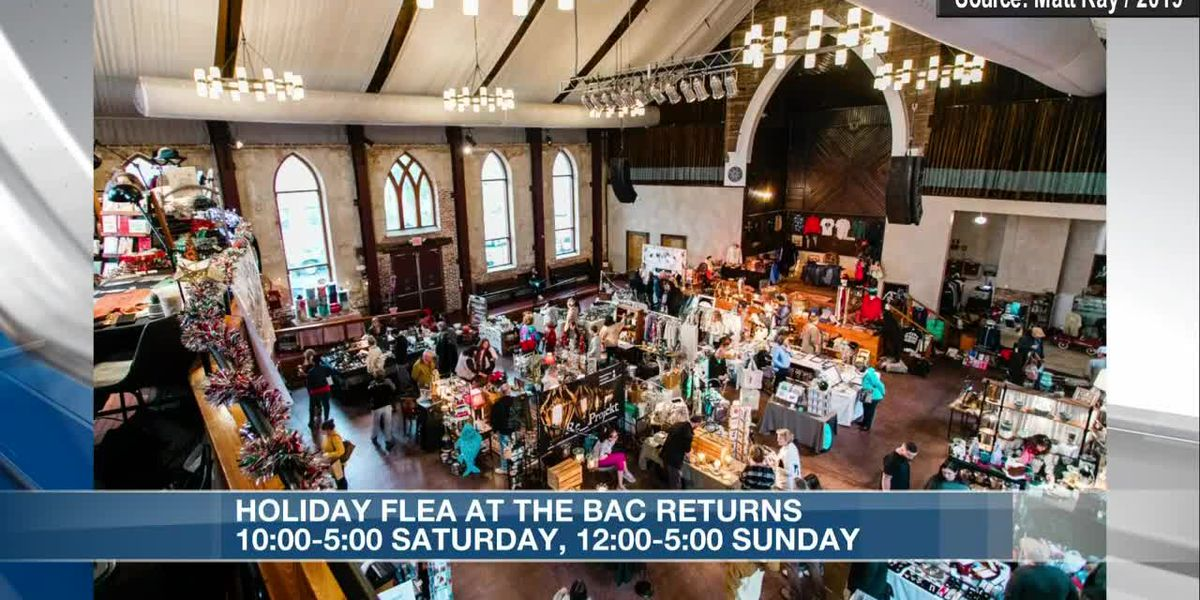 Holiday Flea at BAC is back