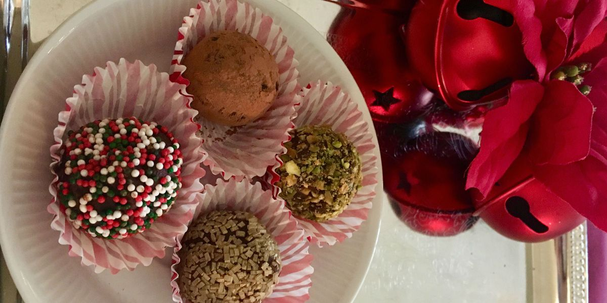 First at Four recipe: Chocolate truffles