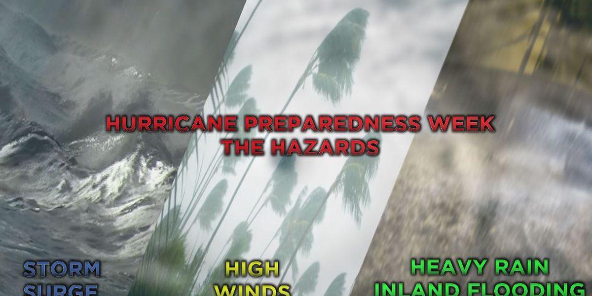 2015 North Carolina Hurricane Preparedness Week: the hazards