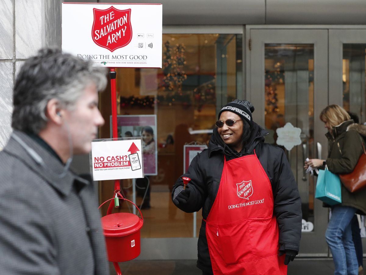 The Salvation Army now accepting donations through Apple Pay, Google Pay
