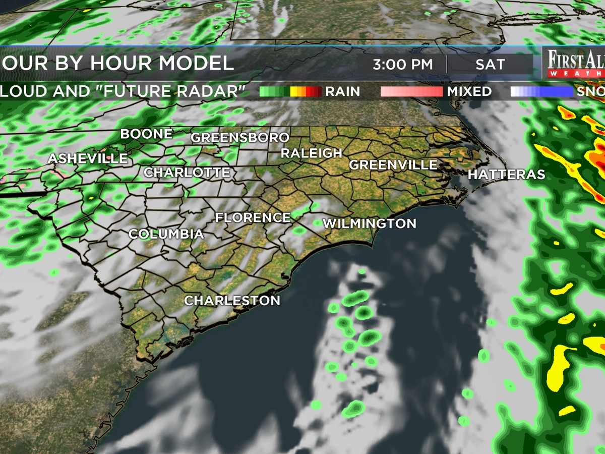 First Alert Forecast: Easter Weekend to feature cooler temperatures, lower rain chances