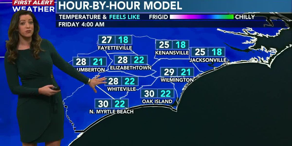 Your First Alert Forecast from Wed. evening, Jan. 27, 2021