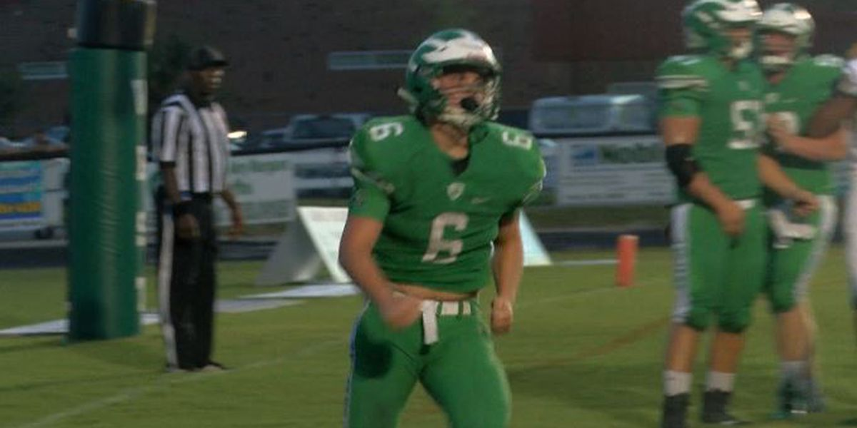 West Brunswick running back Austin Simmons named WECT Athlete of the Week