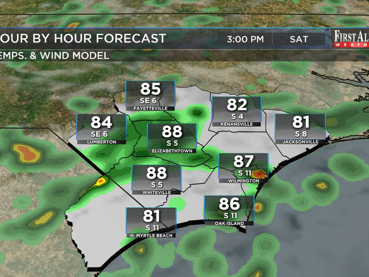 First Alert Forecast: substantial rain expected for the weekend, area of interest in the Gulf of Mexico