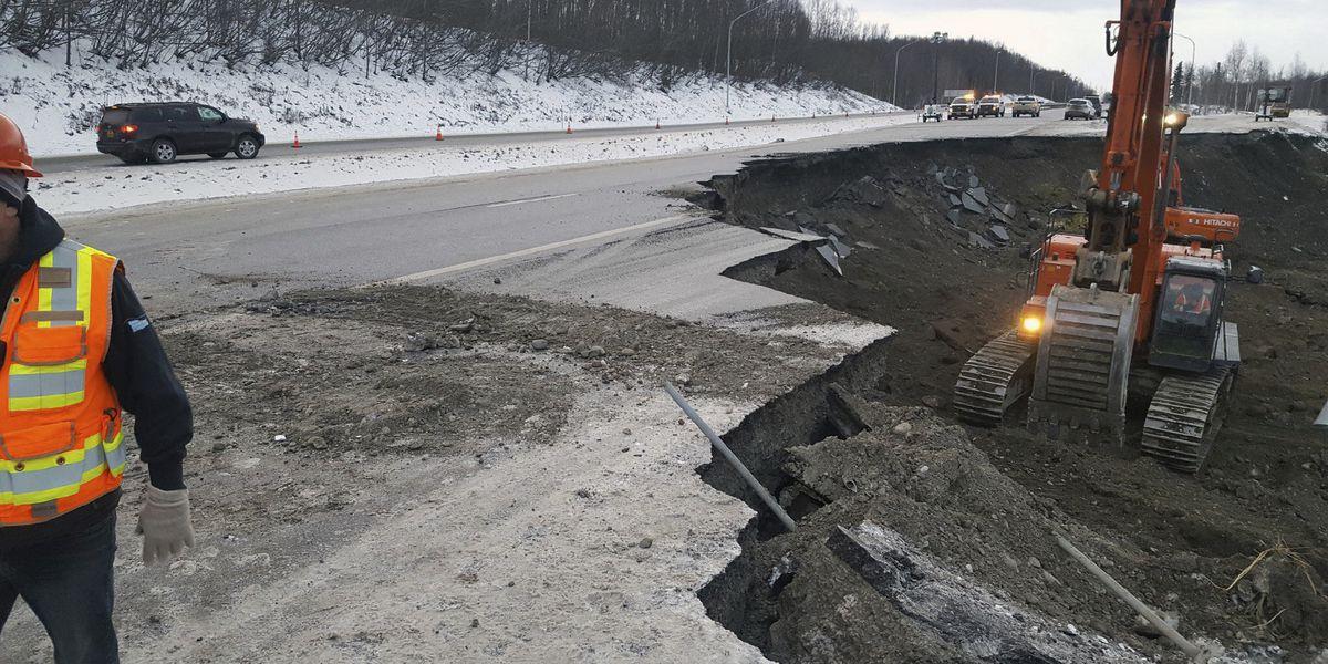 Alaska putting together pieces after massive earthquake
