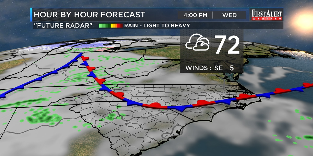 First Alert Forecast: spring-like coming to an end soon, winter weather set to strike back