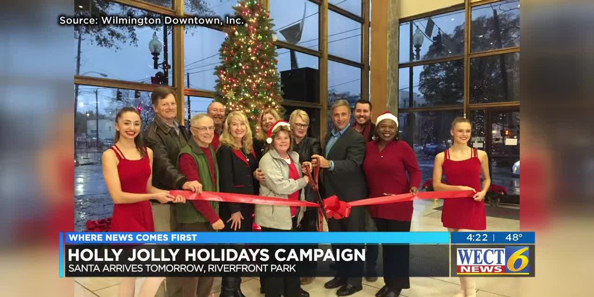 Downtown Wilmington welcomes you for the Holly Jolly Holidays
