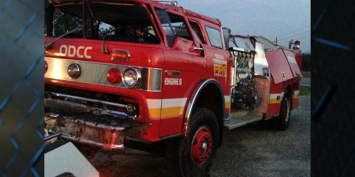 Two Columbus County firefighters injured in accident