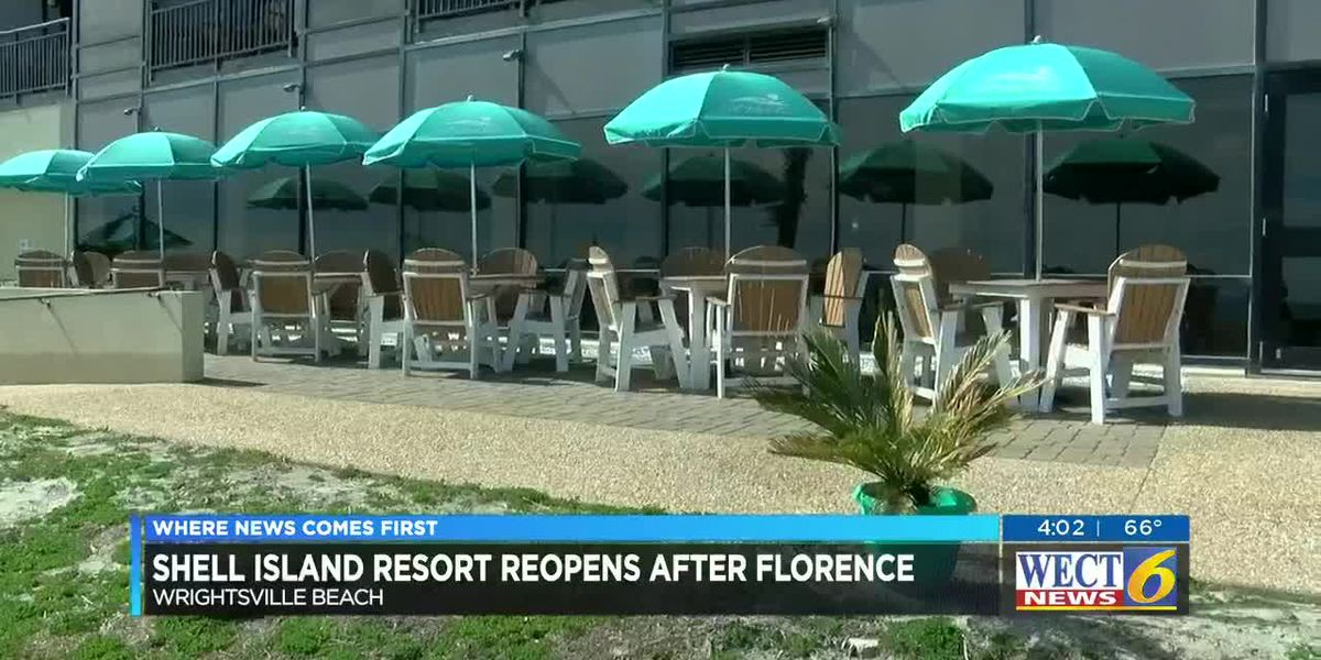 Renovated Shell Island Resort reopens after closing for Hurricane Florence