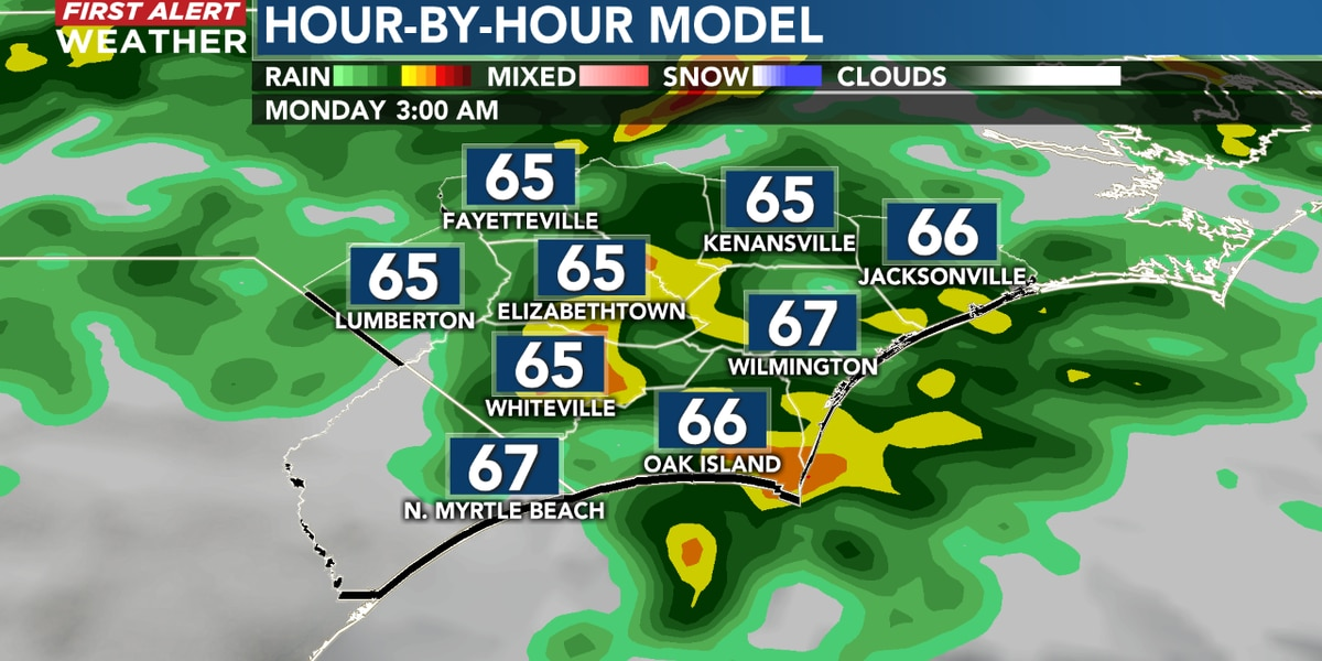 First Alert Forecast: dynamic storm system to bring showers and strong gusty storms tonight