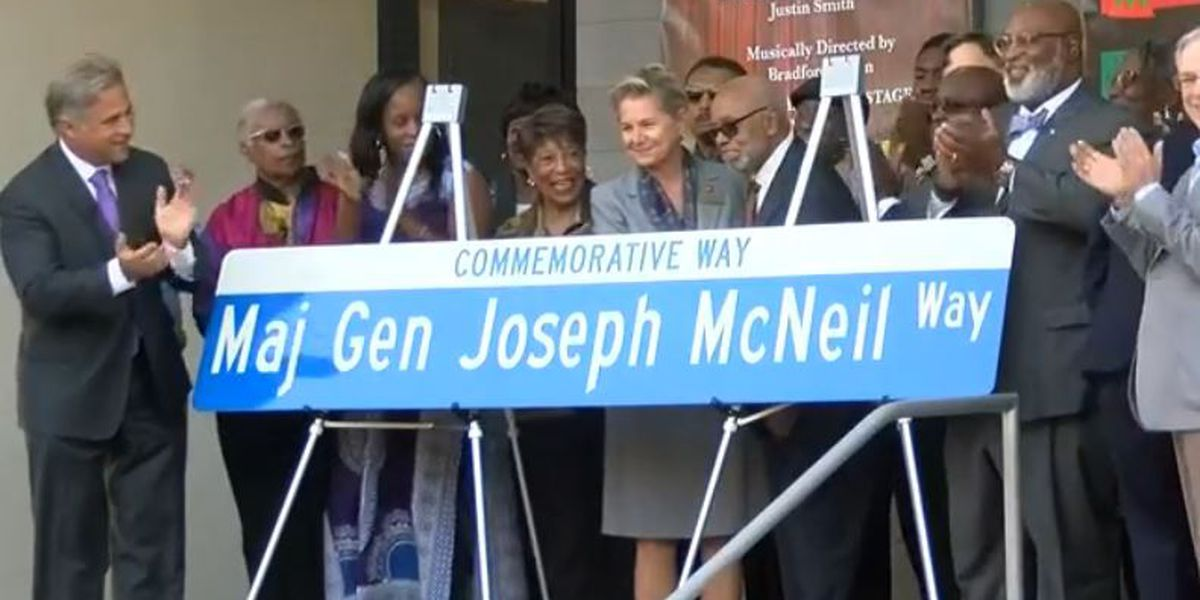 Wilmington continues work to extend Maj. Gen. Joseph McNeil Commemorative Way