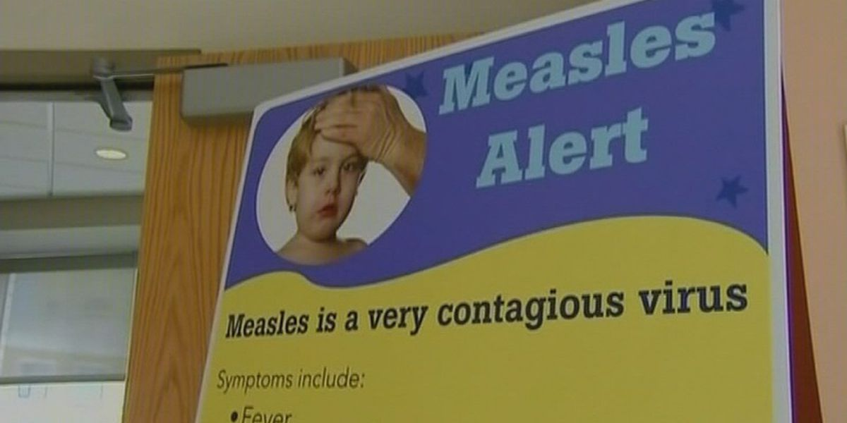Rise in measles cases tied to children not getting vaccinated