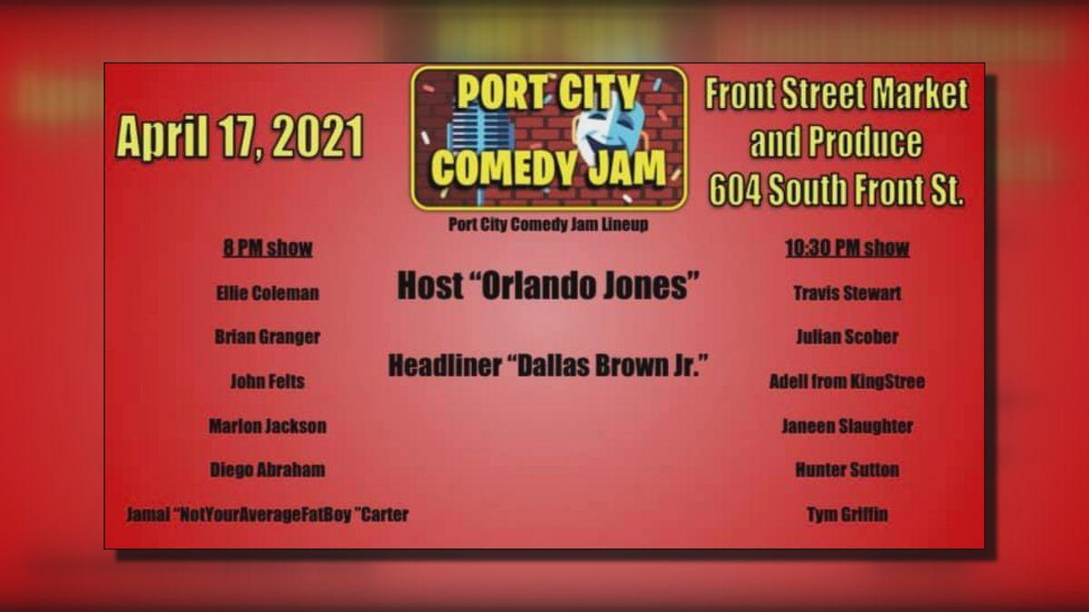 Port City Comedy Jam brings global platform to local talent