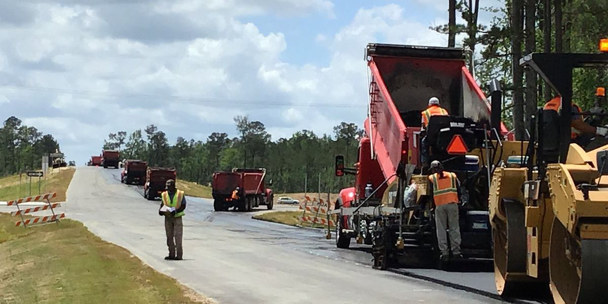 NCDOT: Construction of Columbus County interchange nearing completion