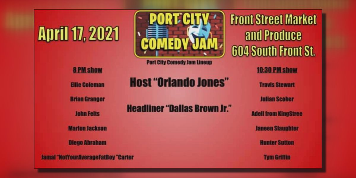 Port City Comedy Jam brings global platform to local talent